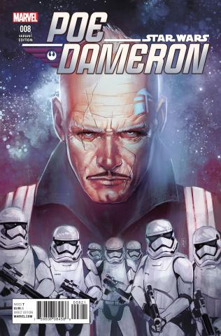 Star Wars: Poe Dameron #8 (Reis Cover)