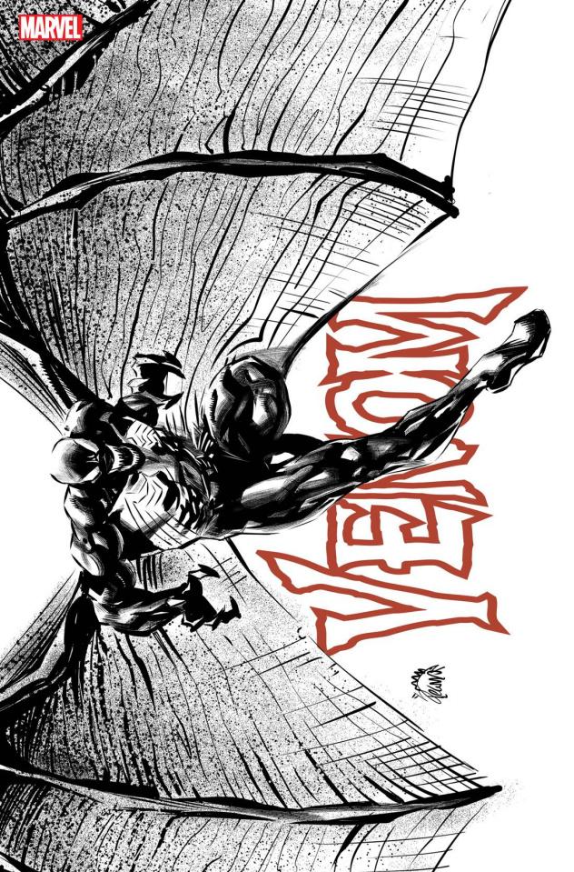 Venom #34 (Stegman Sketch Cover)