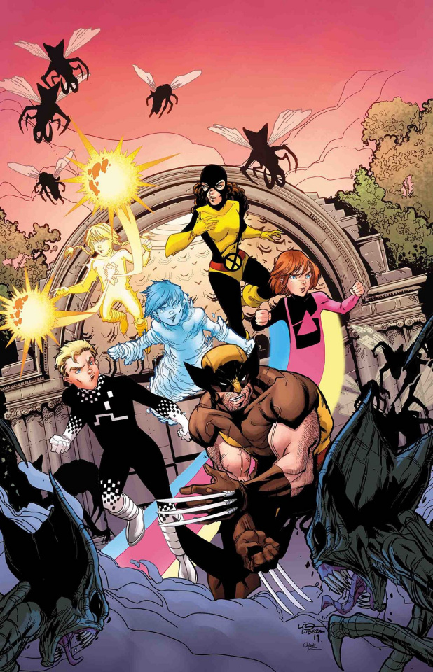 Power Pack: Grow Up #1 (Lubera Cover)