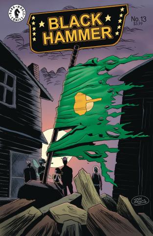 Black Hammer #13 (Lemire COver)