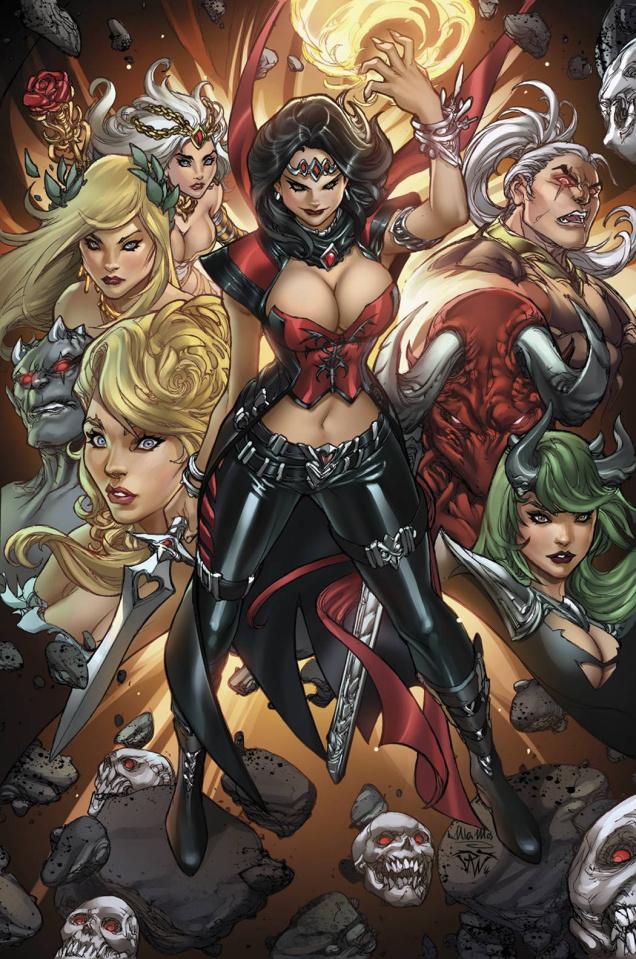 Grimm Fairy Tales: Realm War #2 (Pantalena Cover)