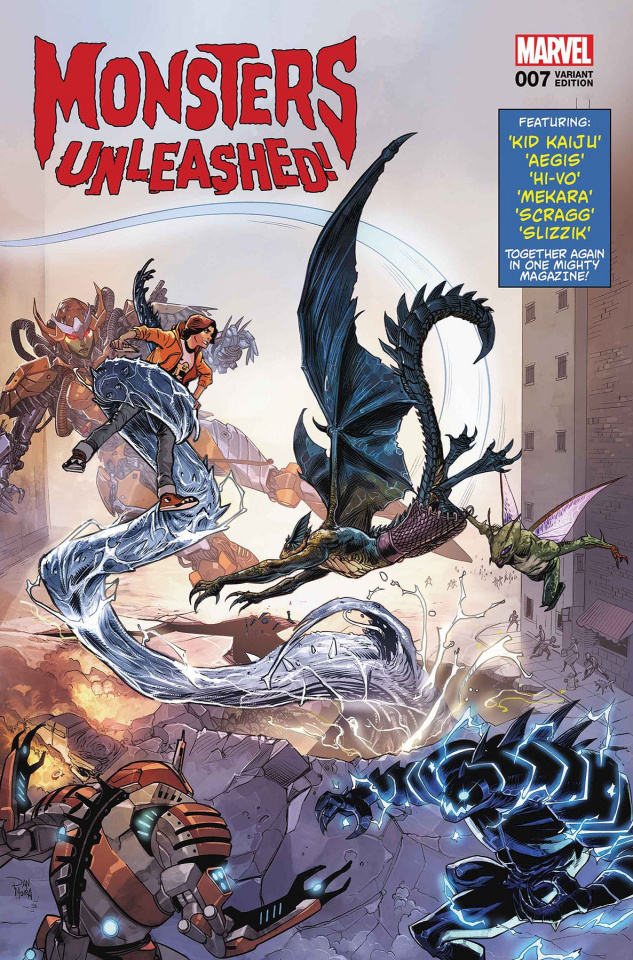 Monsters Unleashed! #7 (Mora Cover)