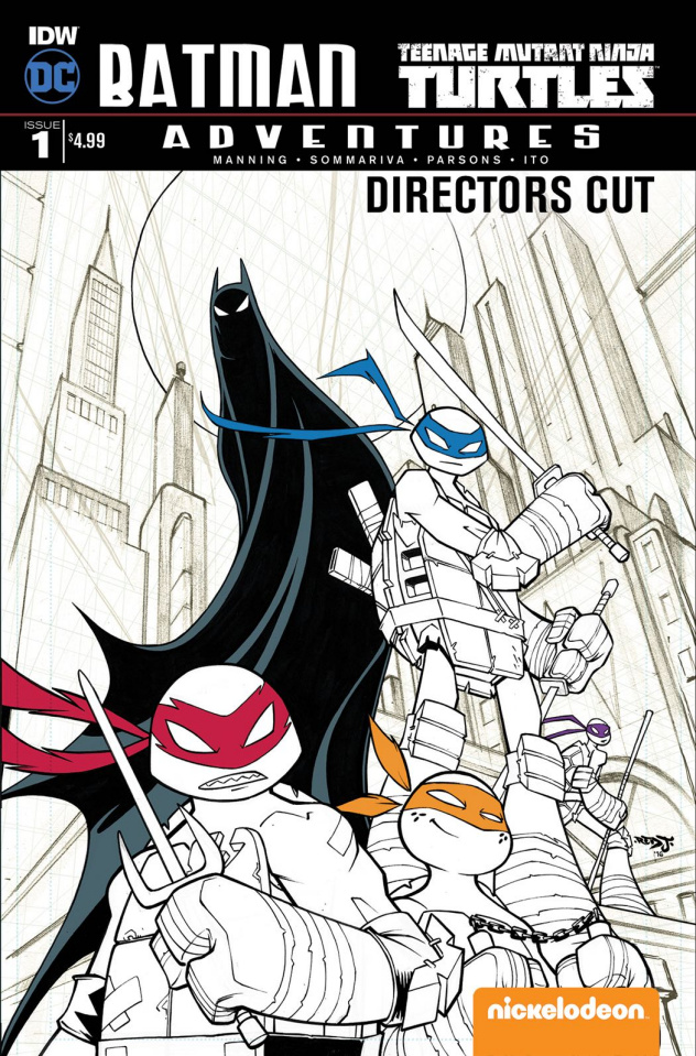 Batman / Teenage Mutant Ninja Turtles Adventures #1 (Director's Cut)