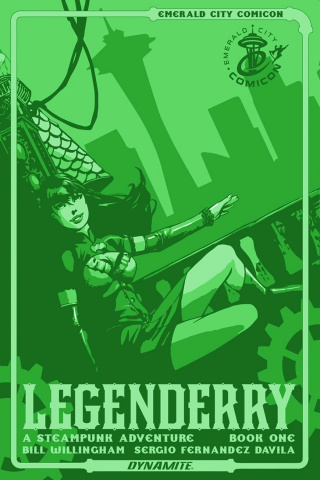 Legenderry: A Steampunk Adventure #1 (Emerald City Con Edition)