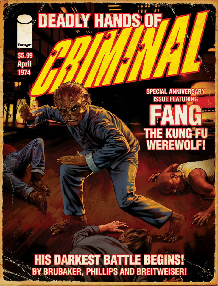 Criminal 10th Anniversary Deadly Special Edition Magazine Size