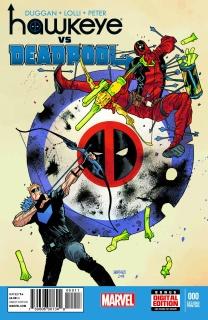 Hawkeye vs. Deadpool #0 (2nd Printing)