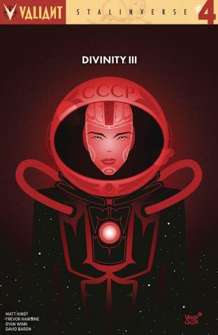 Divinity III: Stalinverse #4 (10 Copy Veregge Cover)