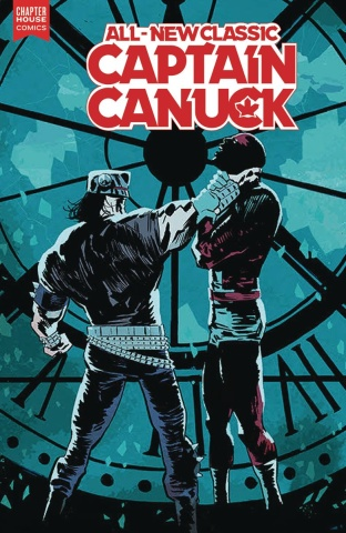 All-New Classic Captain Canuck #4 (Walsh Cover)