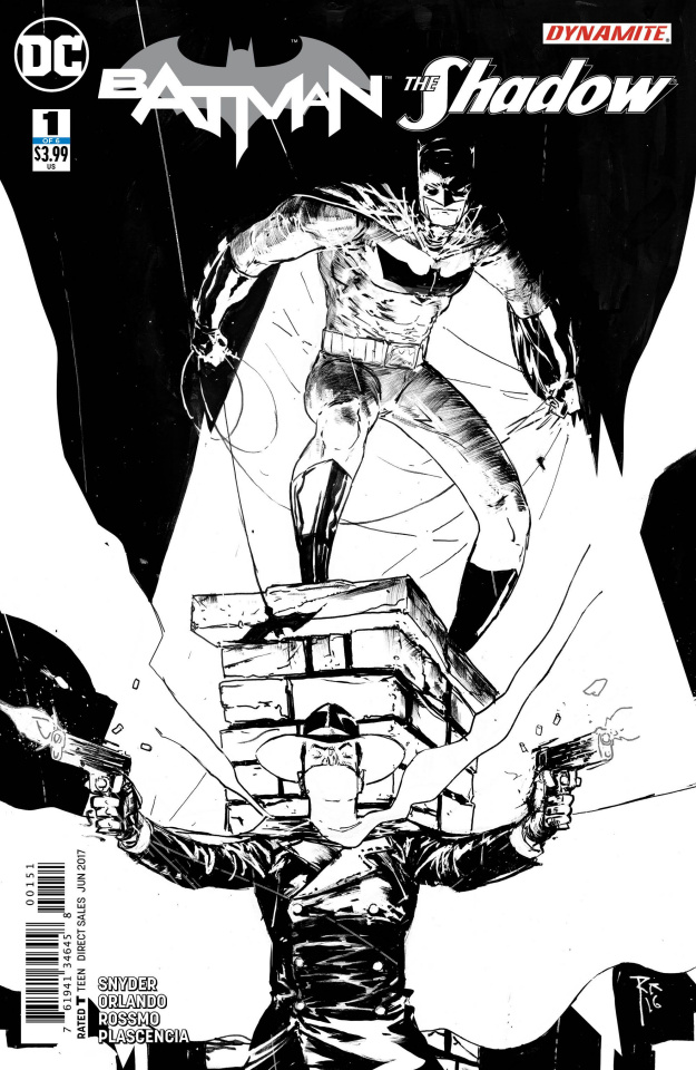 Batman / The Shadow #1 (Coloring Book Cover)