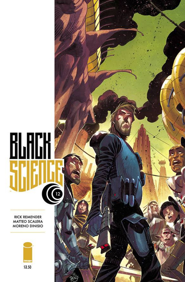 Black Science #12 (Scalera & DiNisio Cover)