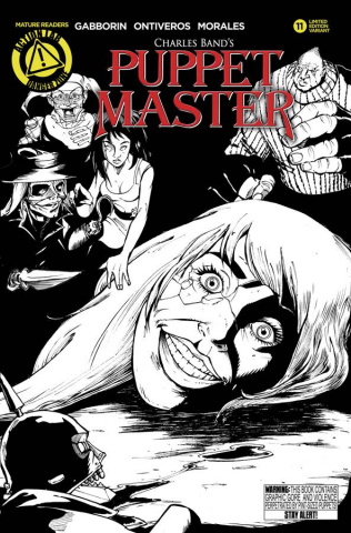 Puppet Master #11 (Sketch Cover)
