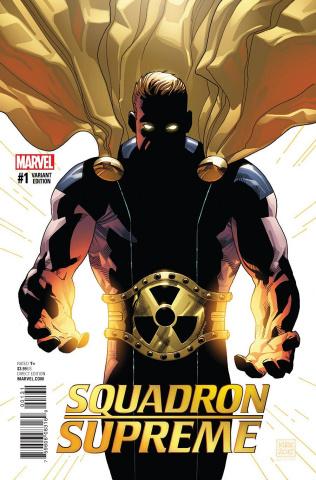 Squadron Supreme #1 (Kirk Cover)