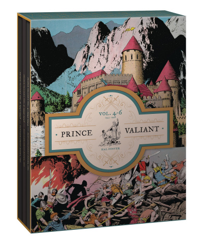 Prince Valiant Vols. 4-6: 1943-1948 (Box Set)