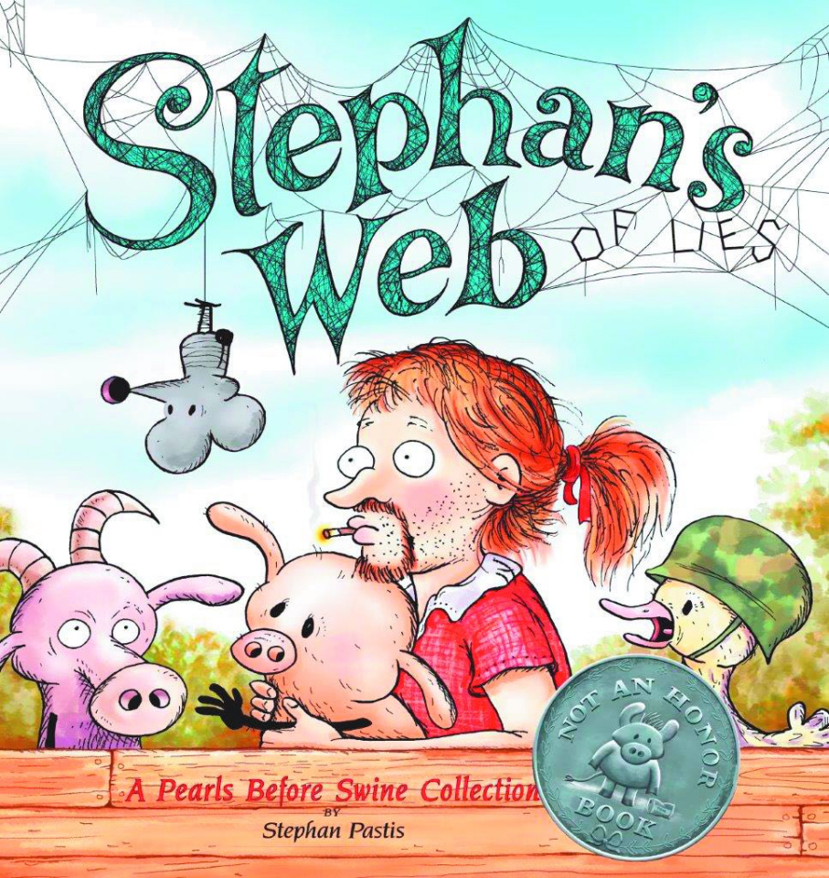 Pearls Before Swine: Stephan's Web