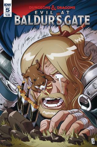 Dungeons & Dragons: Evil At Baldur's Gate #5 (Mortarino Cover)