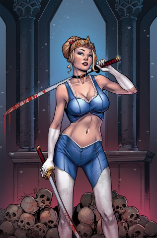Grimm Fairy Tales: Tarot #3 (Meloni Cover)