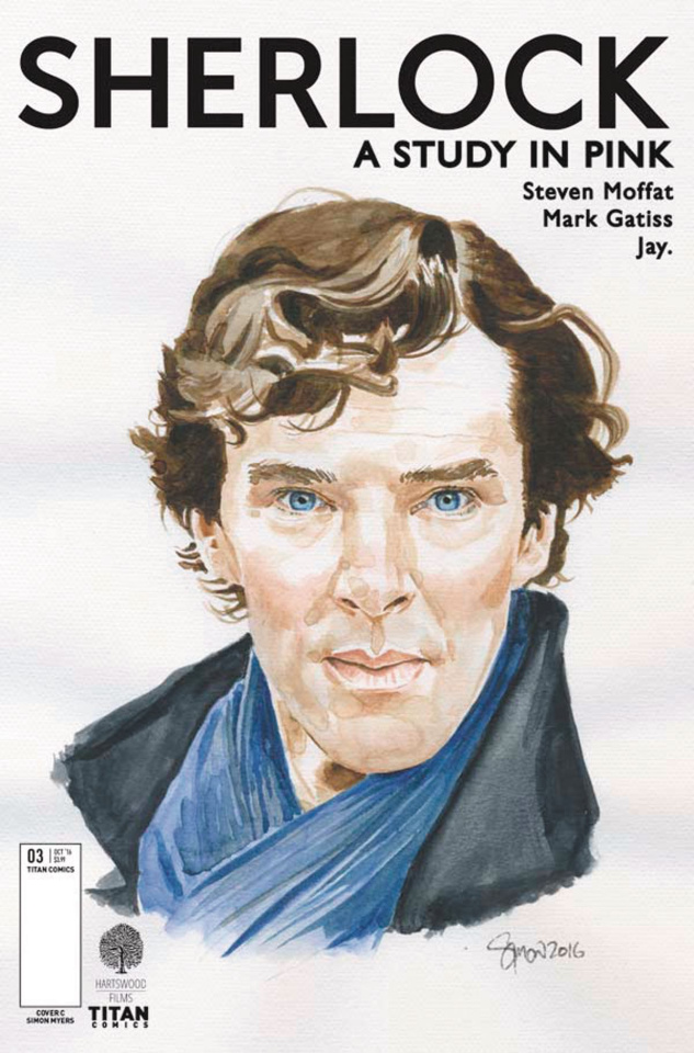 Sherlock: A Study in Pink #3 (Myers Cover)