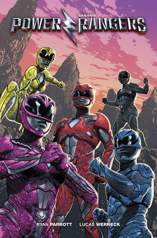 Power Rangers: Aftershock (Previews Cover)