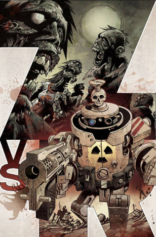 Zombies vs. Robots #1 (Subscription Cover)