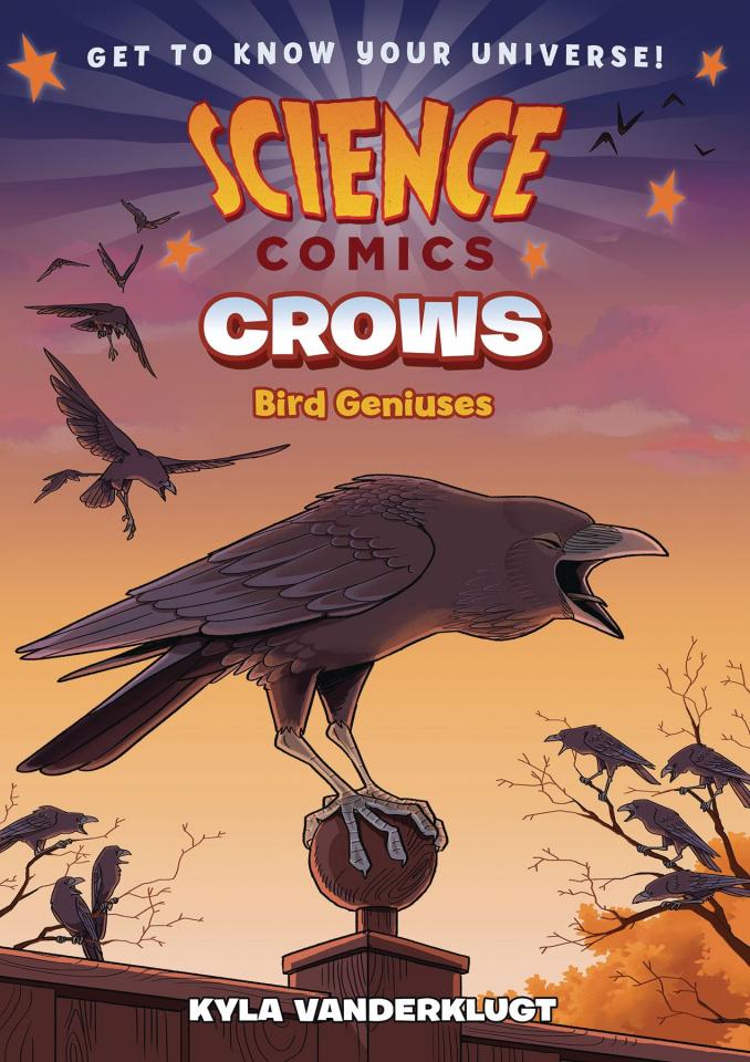 Science Comics: Crows - Genius Birds