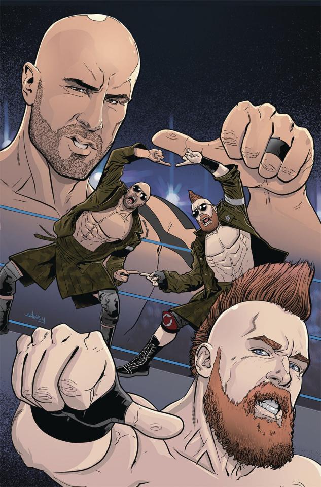 WWE #23 (15 Copy Sliney Cover)