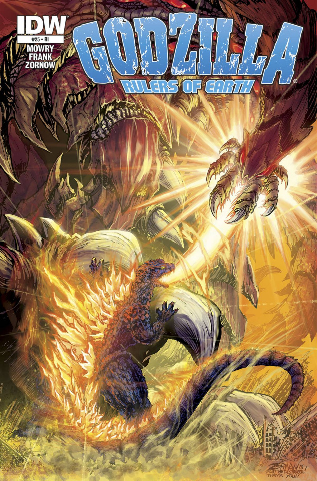 Godzilla: Rulers of Earth #25 (Subscription Cover)