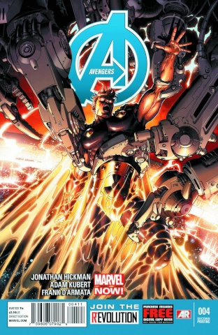 Avengers #4 (2nd Printing)