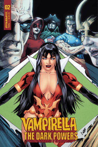 Vampirella: The Dark Powers #2 (Lau Cover)