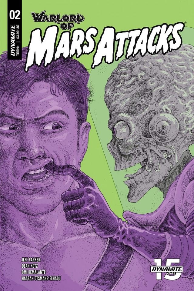 Warlord of Mars Attacks #2 (Villalobos Cover)