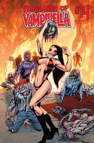 Vengeance of Vampirella #14 (Castro Cover)