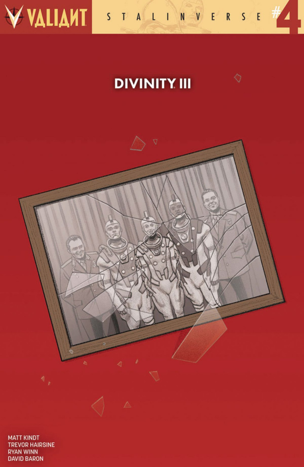 Divinity III: Stalinverse #4 (20 Copy Smallwood Cover)