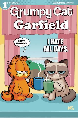 Grumpy Cat / Garfield #1 (Fleecs Cover)