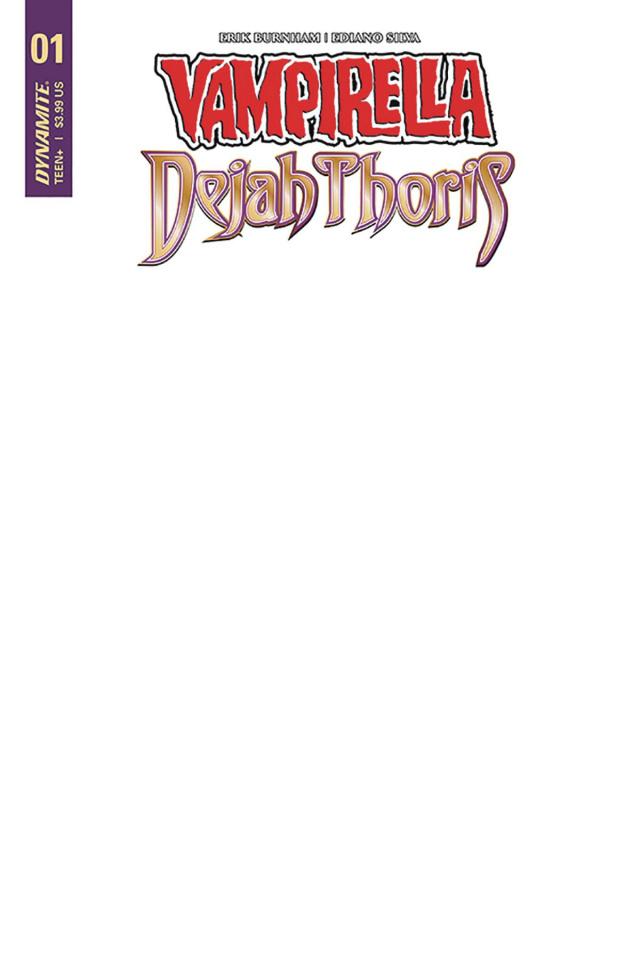 Vampirella / Dejah Thoris #1 (Authentix Cover)