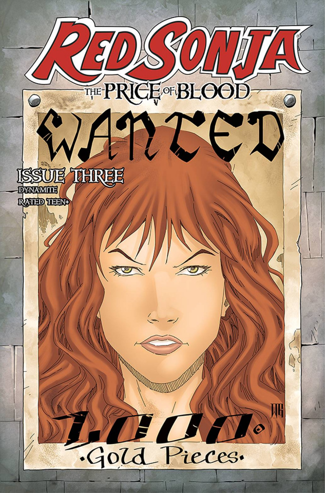 Red Sonja: The Price of Blood #3 (Geovani Cover)