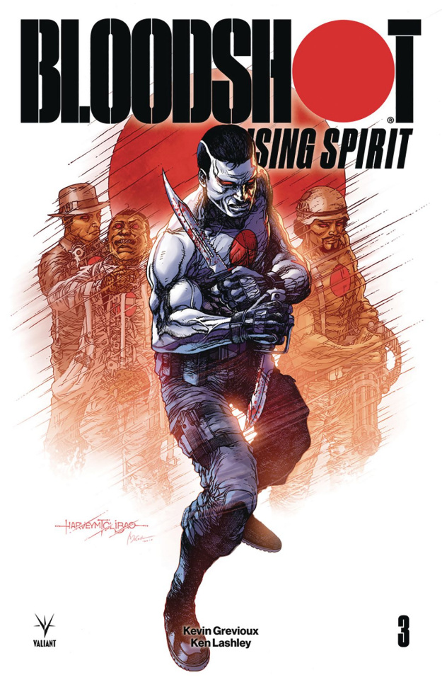 Bloodshot: Rising Spirit #3 (Tolibao Cover)