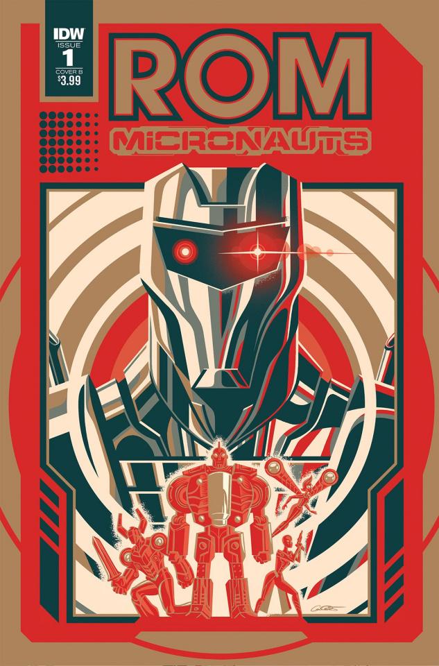 ROM & The Micronauts #1 (Caltsoudas Cover)
