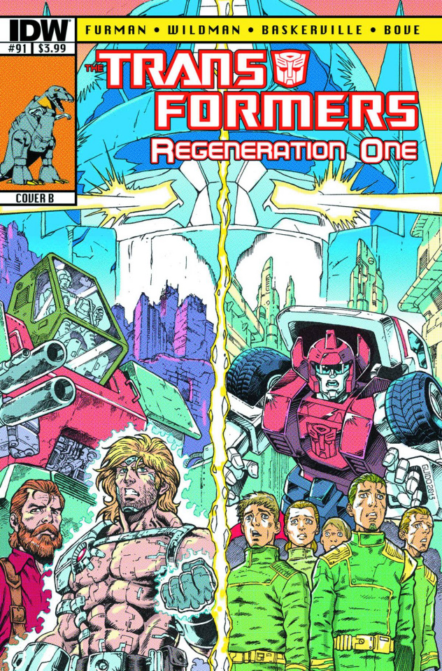 The Transformers: Regeneration One #91