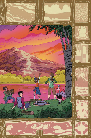 Lumberjanes #50 (Connecting Fish Cover)