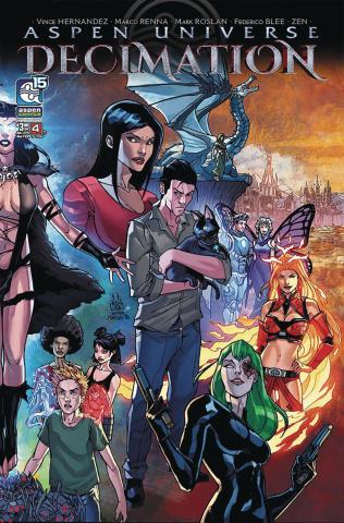 Aspen Universe: Decimation #4 (Cover B)