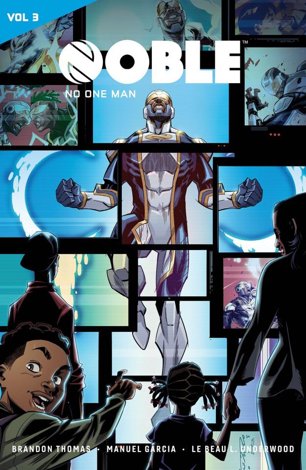 Catalyst Prime: Noble Vol. 3: No One Man