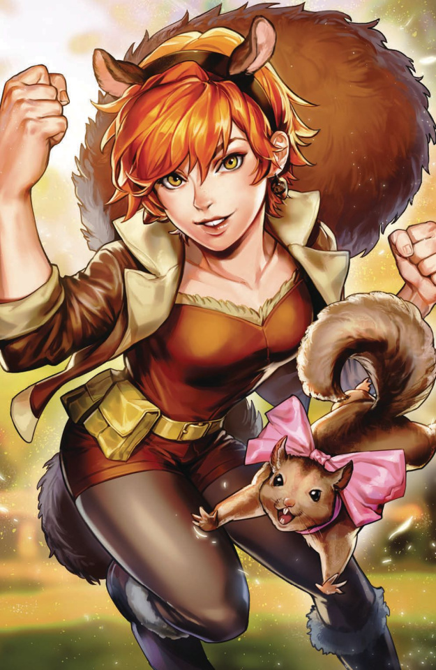 The Unbeatable Squirrel Girl #44 (Sujin Jo Marvel Battle Lines Cover)