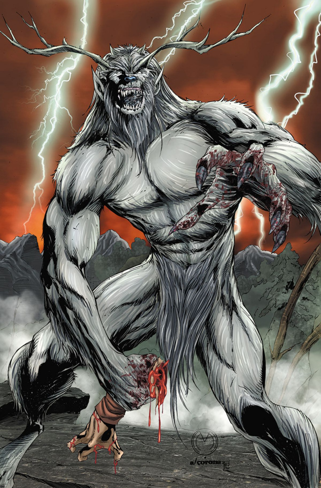 The Monster Hunters' Survival Guide Case Files: Wendigo #1 (Mychael Cover)
