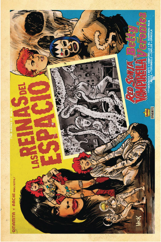 Red Sonja and Vampirella Meet Betty and Veronica #11 (Hack Cover)