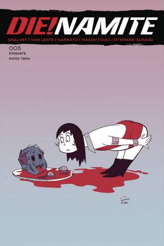 DIE!namite #3 (Dr. Seuss Homage Cover)