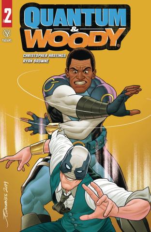 Quantum & Woody #2 (Quinones Cover)