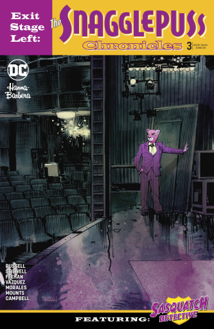 Exit Stage Left: The Snagglepuss Chronicles #3 (Variant Cover)
