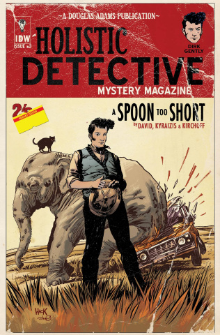 Dirk Gently's Holistic Detective Agency: A Spoon Too Short #2 (Subscription Cover)