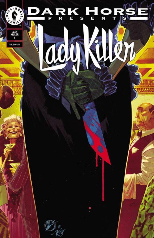Lady Killer 2 #1 (30th Anniversary Cover)