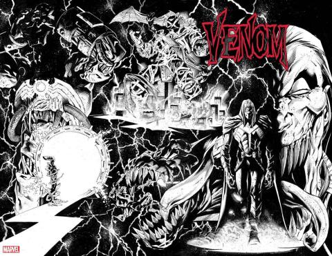 Venom #25 (Stegman Sketch 3rd Printing)