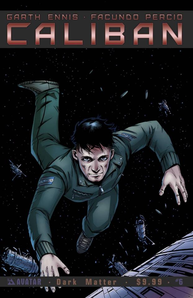 Caliban #6 (Dark Matter Cover)